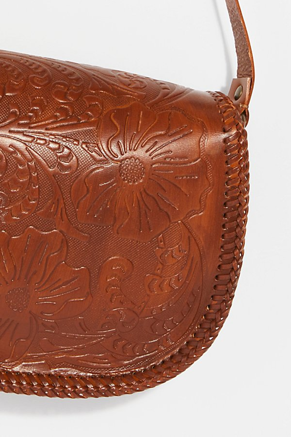 Slide View 5: Tooled Leather Crossbody