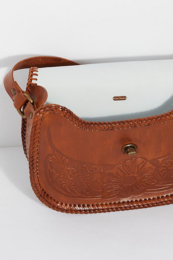 Slide View 6: Tooled Leather Crossbody