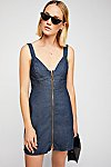 Thumbnail View 1: Marjorie Denim Mini Dress