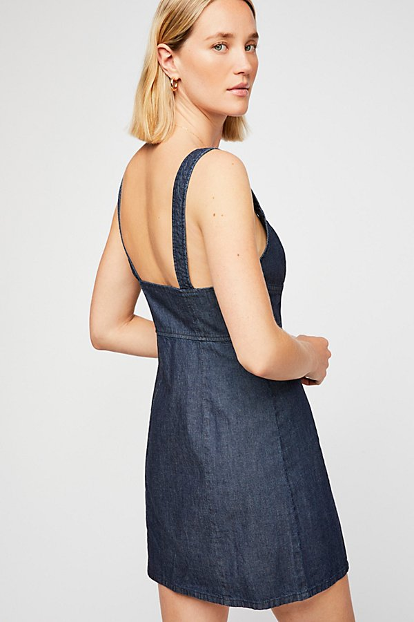Slide View 2: Marjorie Denim Mini Dress
