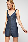 Thumbnail View 3: Marjorie Denim Mini Dress