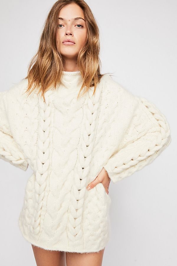 Braided Cable Pullover Sweater | Free People