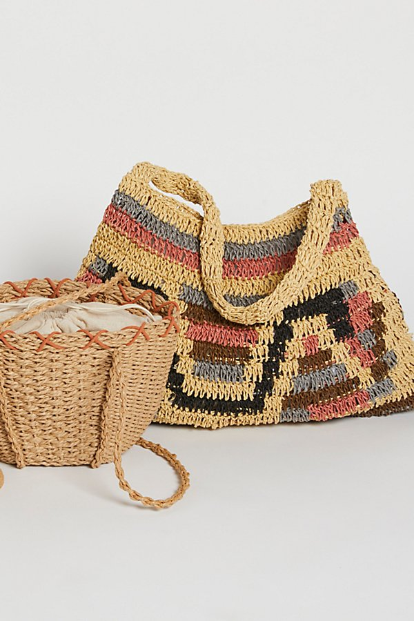 Slide View 1: Tropez Straw Bag