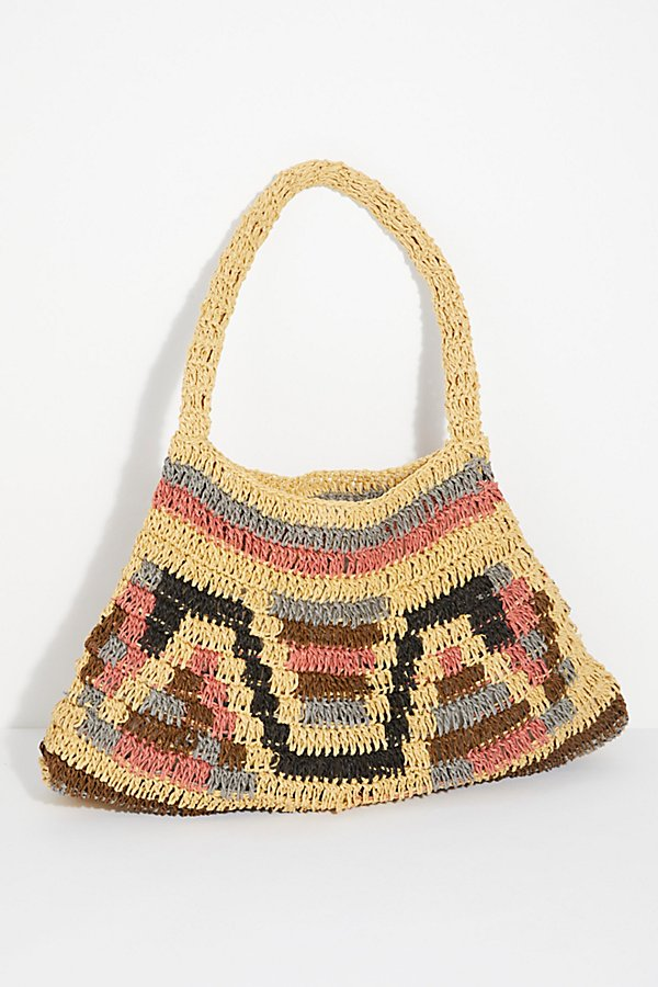 Slide View 5: Tropez Straw Bag
