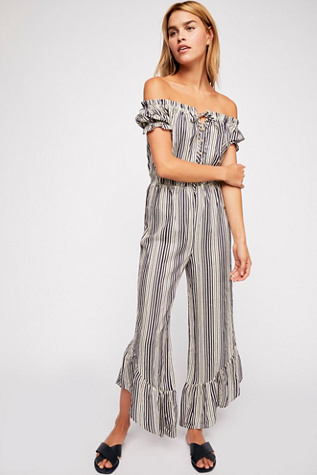 Washed Ashore Femme Jumpsuit by Free People
