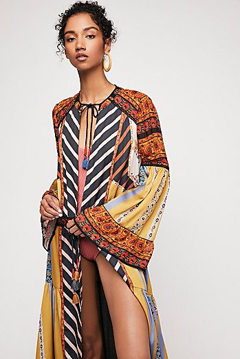 Meadow Sweet Print Duster