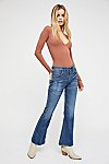 Thumbnail View 2: Citizens of Humanity Kaya Mid-Rise Crop Flare Jeans