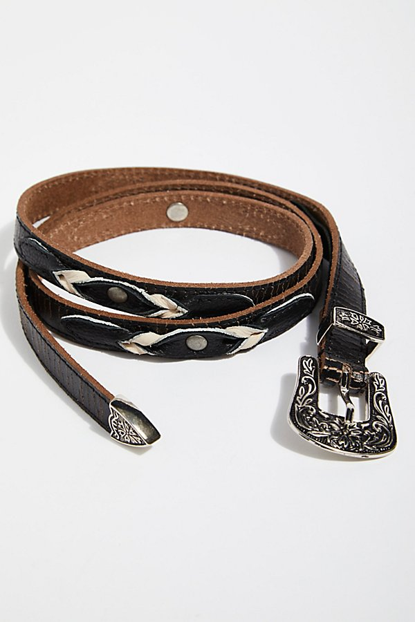 Slide View 2: Dhalia Distressed Belt