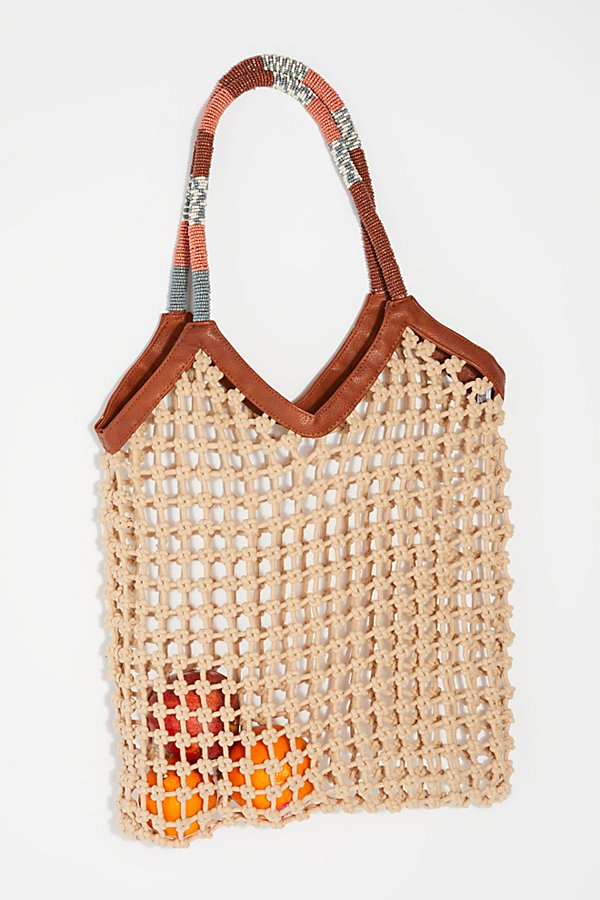 Slide View 1: Beaded Net Bag