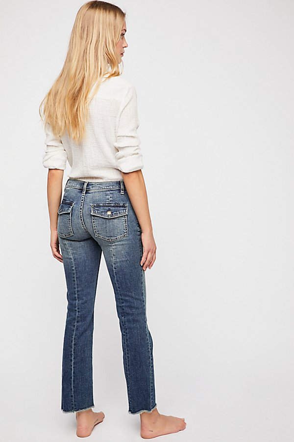 Slide View 3: Austen Straight Leg Jeans