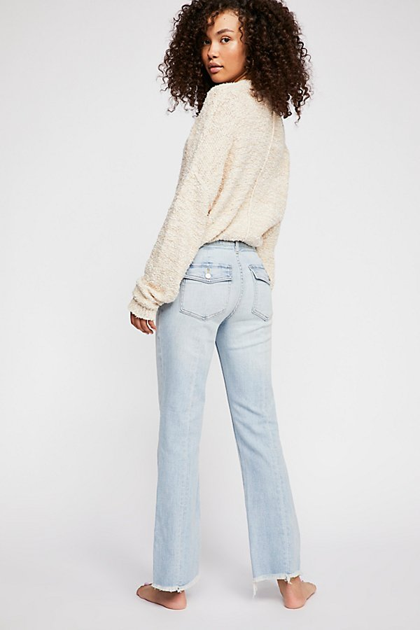 Slide View 2: Austen Straight-Leg Jeans