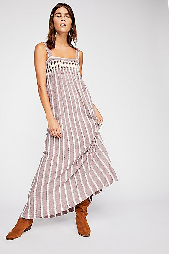 Rain Shadow Knit Maxi Dress
