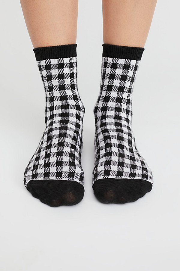 Slide View 2: Gingham Crew Sock