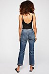 Thumbnail View 2: Let Down Hem Slim Crop Jeans