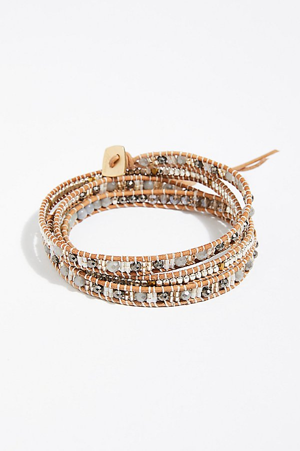 Slide View 2: Shimmer Wrap Bracelet