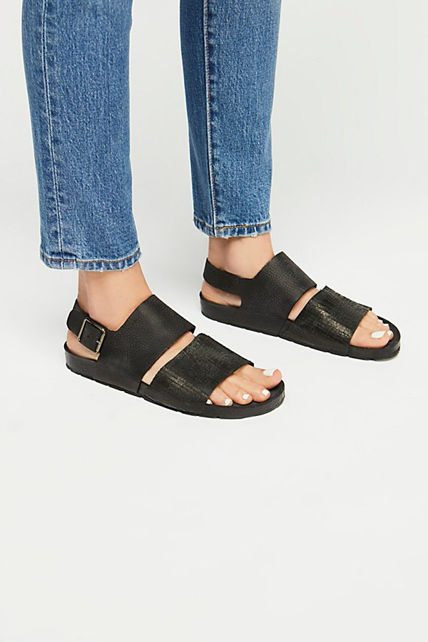 Slide View 2: Rogue Distressed Footbed Sandal