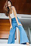 Thumbnail View 5: Clean Wide-Leg Jeans
