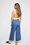 Thumbnail View 2: Clean Wide-Leg Jeans