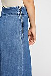 Thumbnail View 4: Clean Wide-Leg Jeans