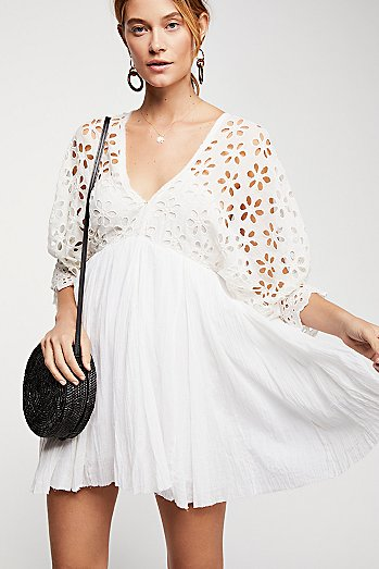 Bella Note Eyelet Dress