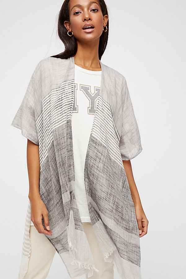 Slide View 2: Take Flight Stripe Kimono