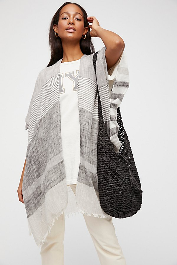 Slide View 4: Take Flight Stripe Kimono