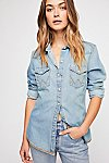 Thumbnail View 3: Wrangler Festival Denim Shirt
