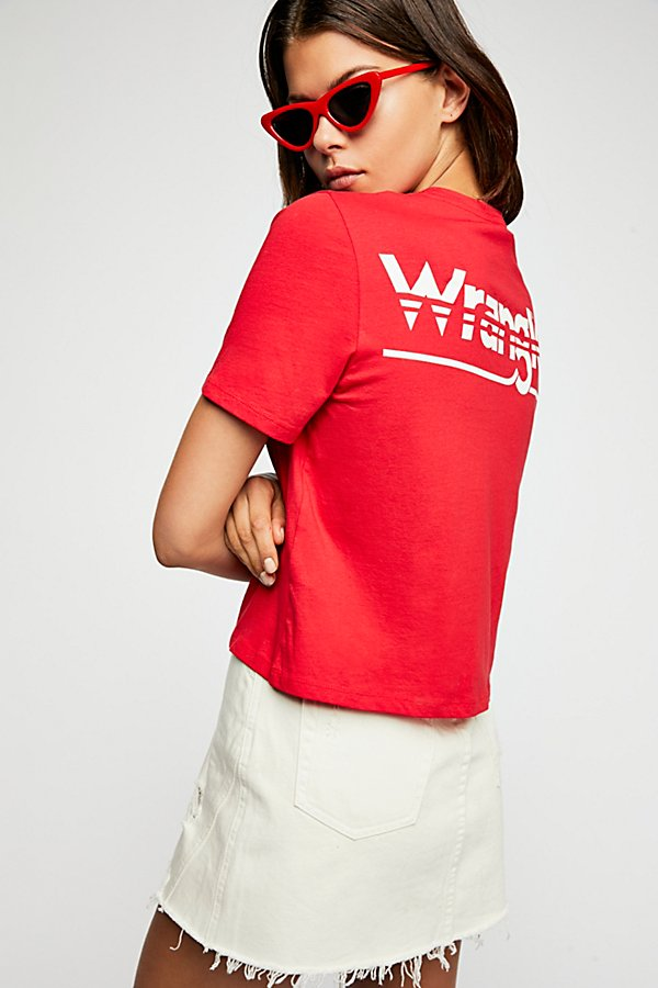 Slide View 1: Wrangler Crop Tee