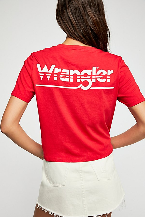Slide View 3: Wrangler Crop Tee