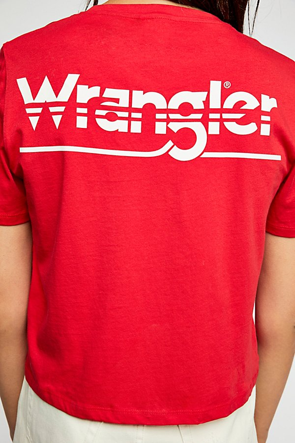 Slide View 4: Wrangler Crop Tee
