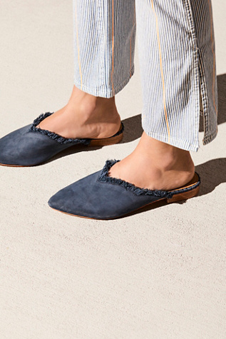 Leather Newport Flat by Free People