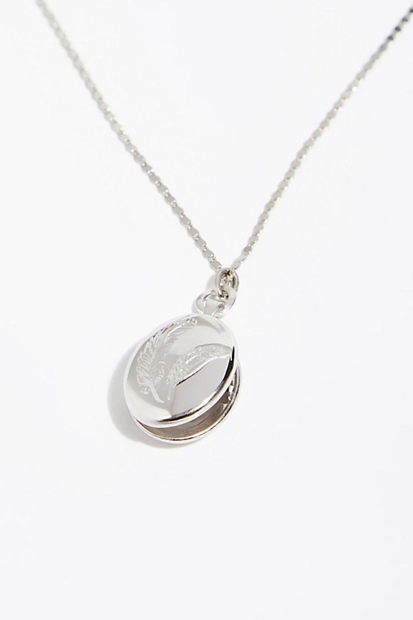 Slide View 2: Infinite Locket Necklace
