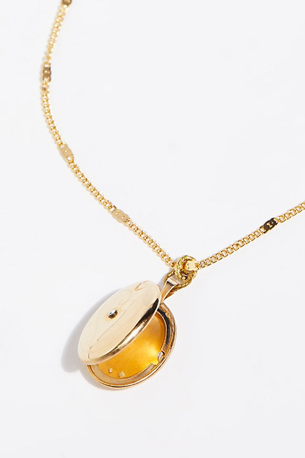 Slide View 4: Infinite Locket Necklace