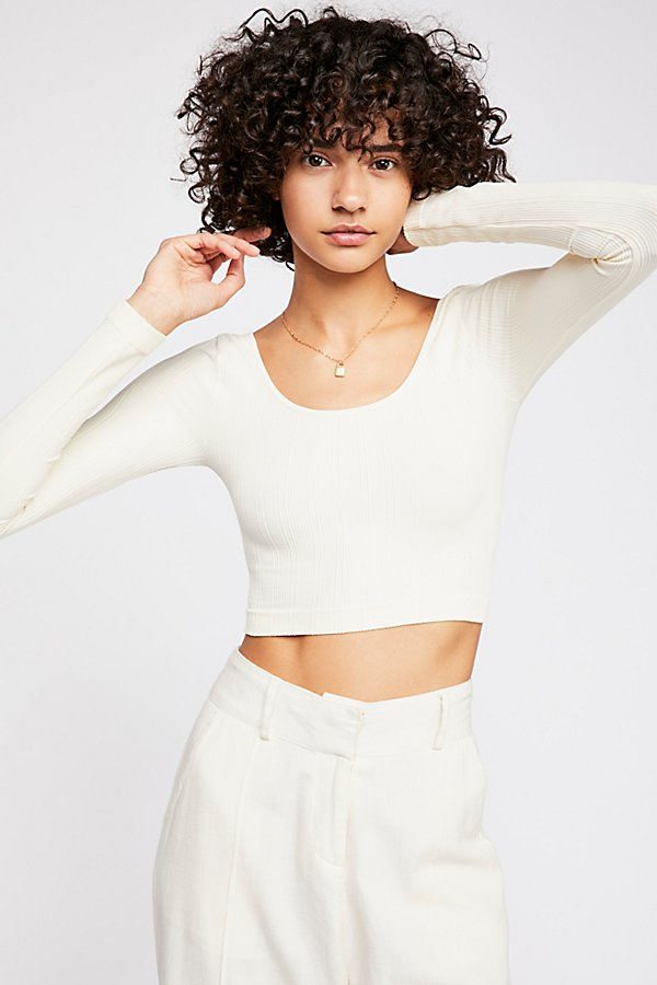 Slide View 2: See Me Long Sleeve Crop