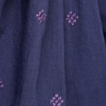 蓝色印花组合
