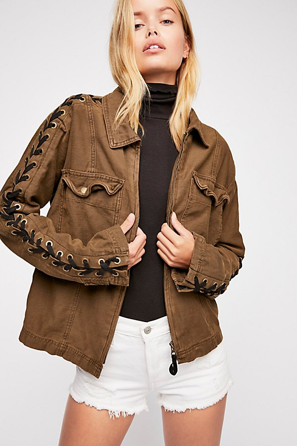Slide View 1: Faye Military Jacket
