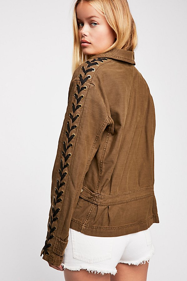 Slide View 2: Faye Military Jacket