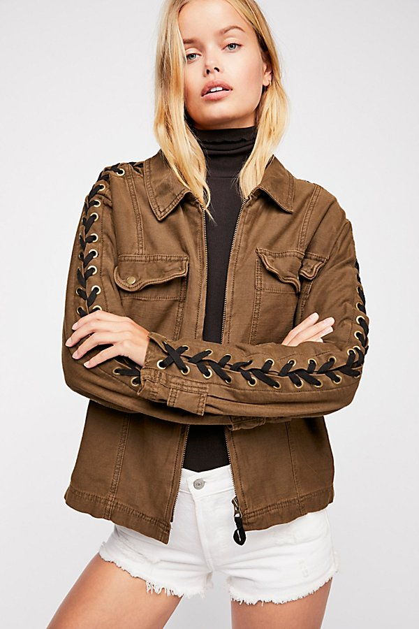 Slide View 3: Faye Military Jacket
