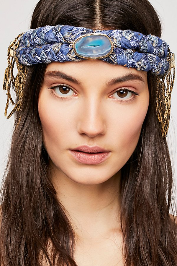 Slide View 1: Fringe Braided Headband