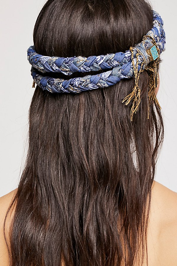 Slide View 2: Fringe Braided Headband