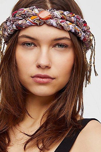 Fringe Braided Headband