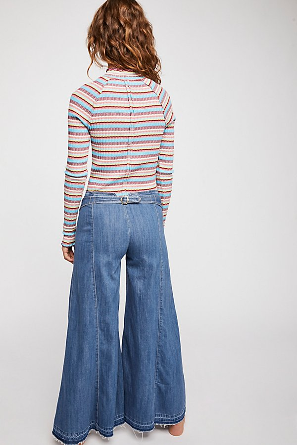 Slide View 2: Extreme Wide-Leg Jeans