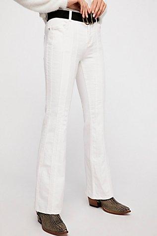 Thumbnail View 4: So Many Seams Flare Jeans