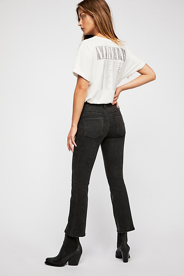 Slide View 2: Weslin + Grant Super Cropped Bootcut Jeans
