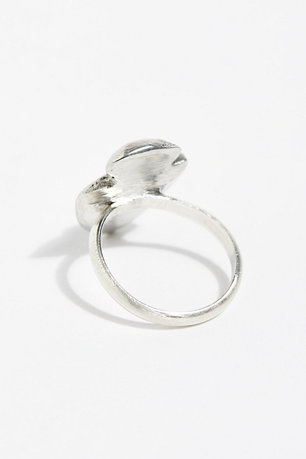 Slide View 3: Gemstone Arrowhead Ring