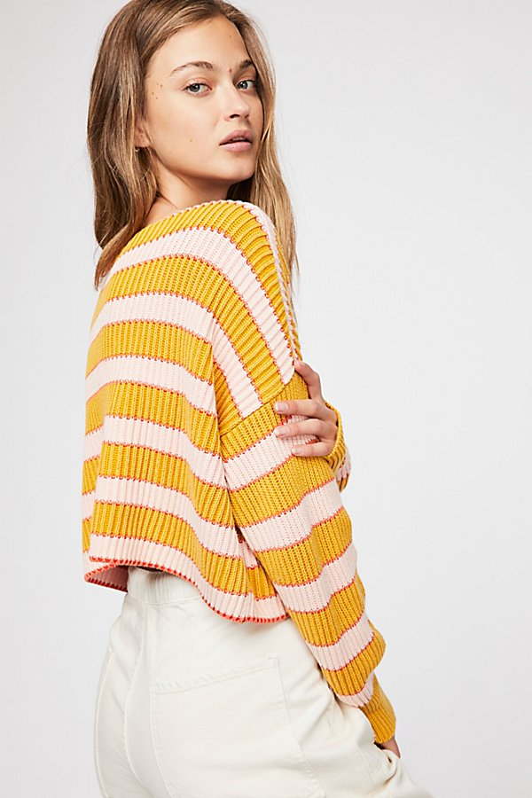 Slide View 2: Just My Stripe Pullover Sweater