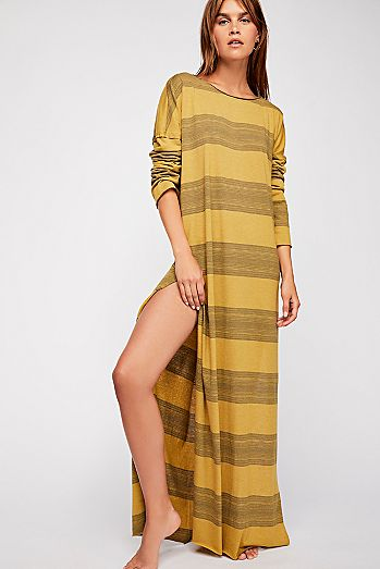 Daydreamer Stripe Maxi Dress