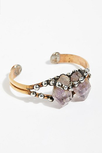 Canyon Raw Stone Cuff