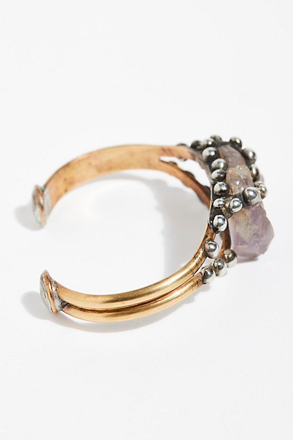 Slide View 3: Canyon Raw Stone Cuff