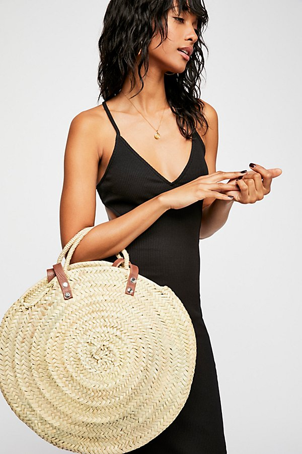 Slide View 1: Marrakesh Straw Tote